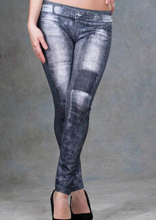 Patched Leggings