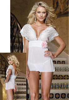 Bridal Lace Baby Doll