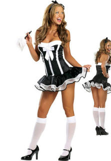 French Maid Strapless