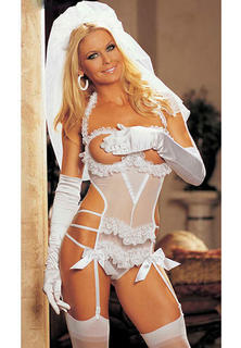 Bridal Teddy