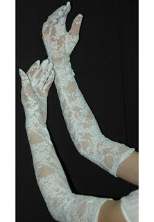 Long Lace Gloves