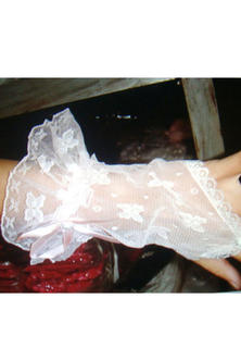 Frilled Fingerless Gloves