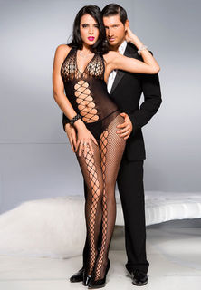 Criss Cross Body Stocking