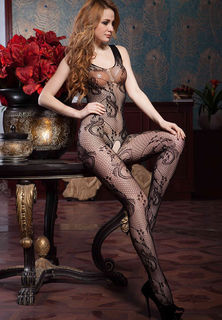 Floral Bodystocking