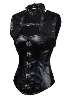Leather Steampunk Corset