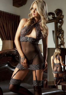 Leopard Baby Doll