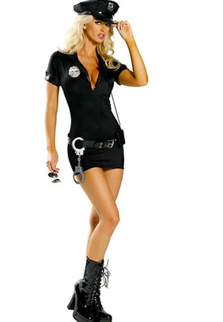 Police Costume Five Piece