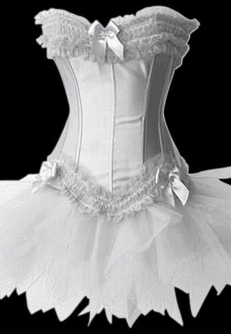 Three Piece Corset Tutu Set
