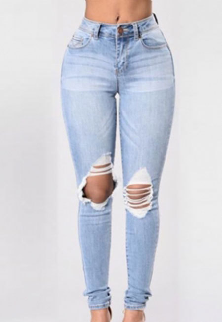 Ripped Jeans Leggings