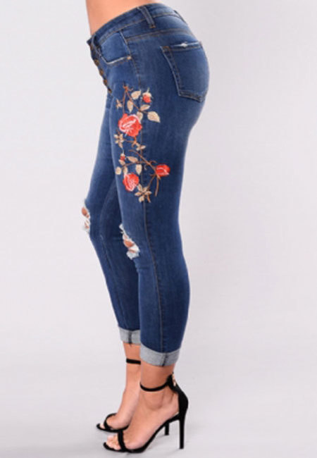 Roses Jean Leggings