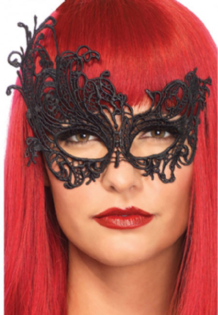 Lace Vamp Eye Mask