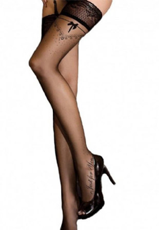 Bow Design Stockings