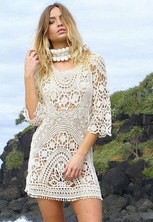 Crotched Beach Dress