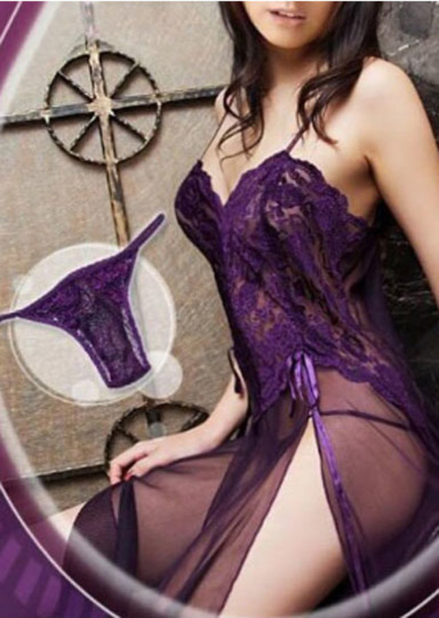Purple Sheer Delight