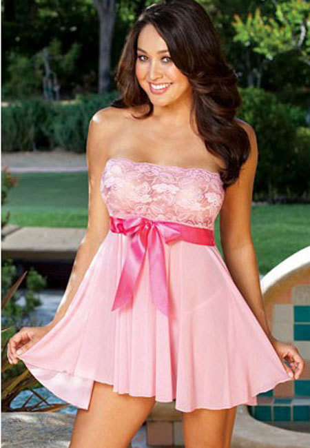 Strapless Baby Doll